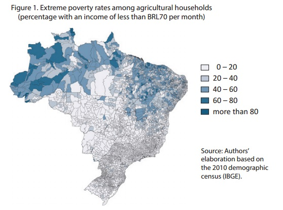 Poverty In Rural Brazil It Is All About Assets VOXLACEA - Extreme poverty map