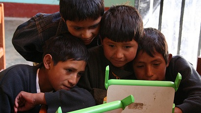 One Laptop per Child program in Peru