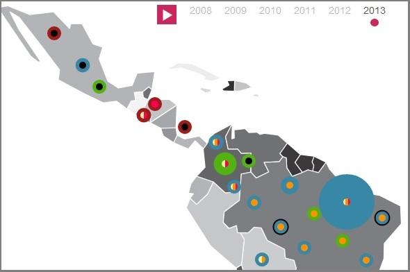 Mapa de iniciativas laborales para jóvenes